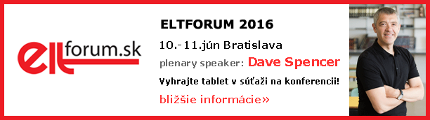 Dave Spencer na Elt Forum